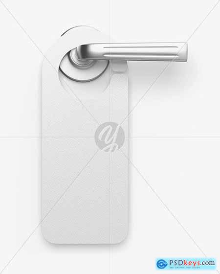 Door Hanger Mockup 69596