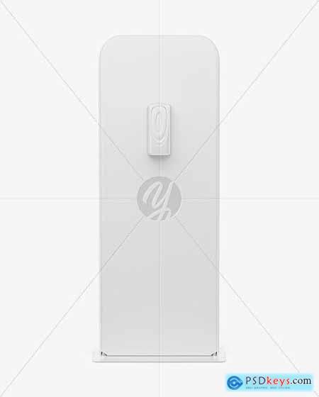 Hand Sanitizer Stand Mockup - Front View 69366