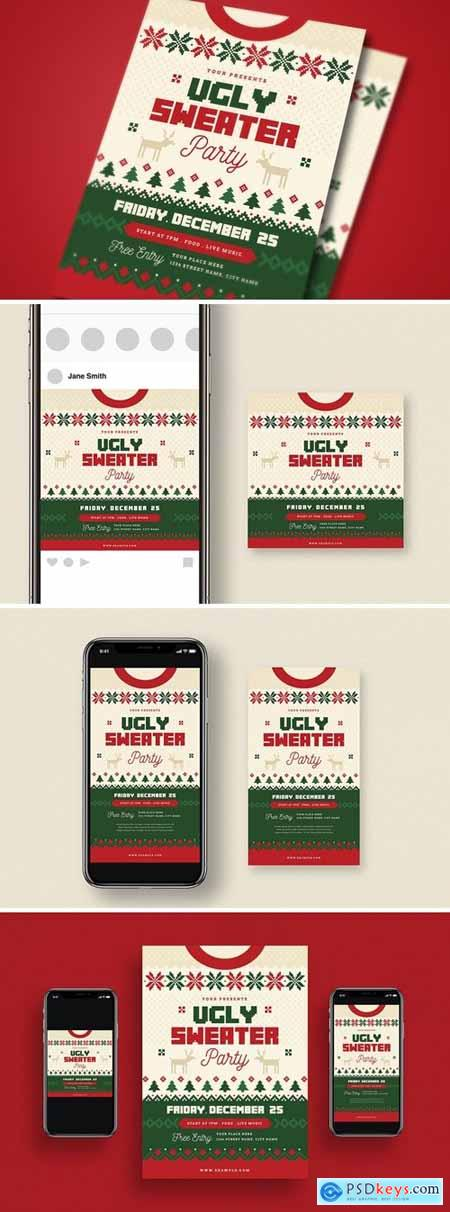 Ugly Sweater Christmas Party + Social Media VQ6NNBD