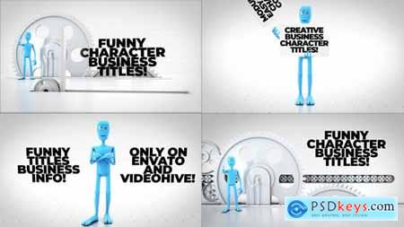 Funny Character Titles Bundle 29418477