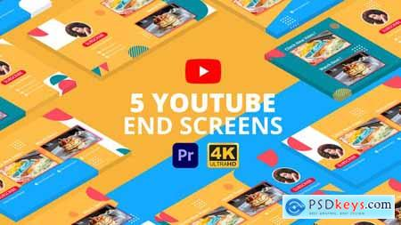 YouTube End Screens Vol.3 Premiere Pro MOGRT 29415274