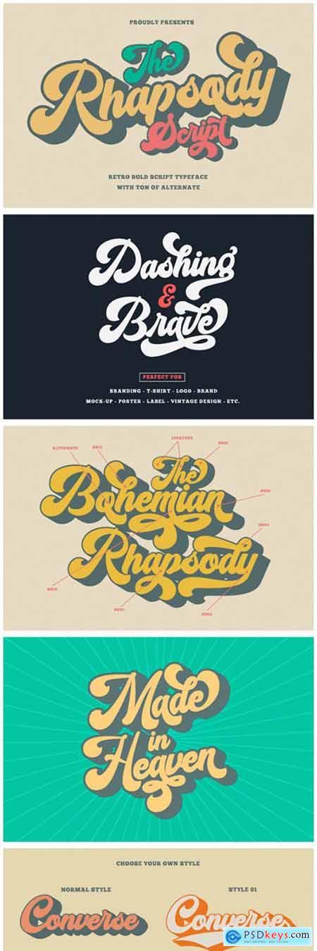 The Rhapsody Font