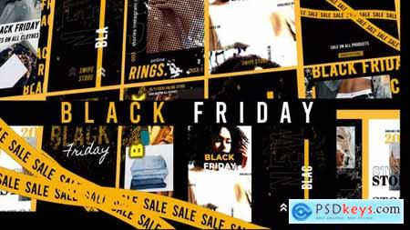 Black Friday Stories Instagram Gold 29443434
