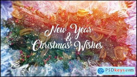 Christmas and New Year Wishes 23035677