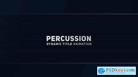 Percussion - Dynamic Title Animation 20402243