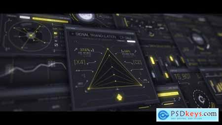 Interceptor 100 UI HUD Screens 26554673