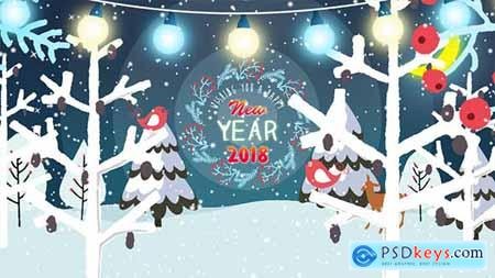 New Years and Christmas Greetings 20982681