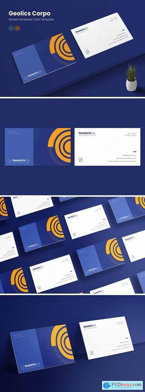 Geolics Corpo Business Card