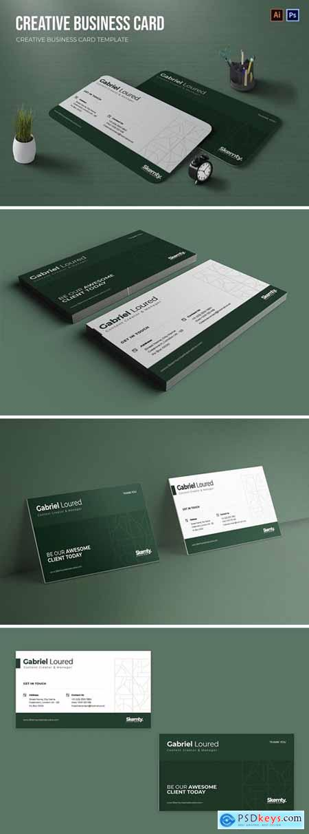 Creative Content Business Card