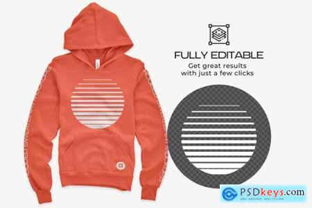 Bella Canvas Youth Pullover Mockups 5444511