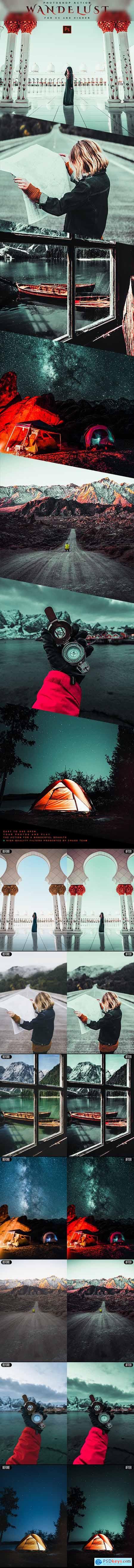 Wanderlust - Photoshop Action 28854054