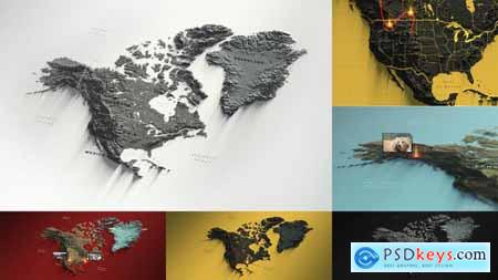 North America Map 29479163
