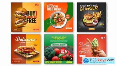 Food Promo Instagram Post V25 29485425