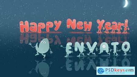 Christmas & New Year Opener Cartoon 13862123