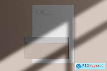 Deia Stationery Mockup Scene Creator 3035457