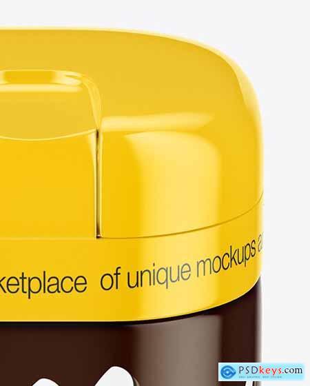 Glossy Coffee Jar Mockup 69830
