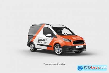 Delivery Car Mockup 4 5549704