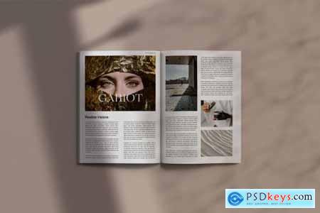 GARIOT Magazine Mockups 5638050