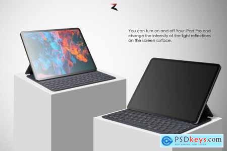 iPad Pro Mockup 6K 5637356