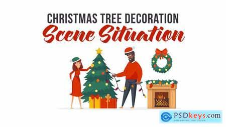 Christmas tree decoration - Scene Situation 29496492