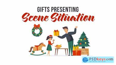 Gifts presenting - Scene Situation 29496525