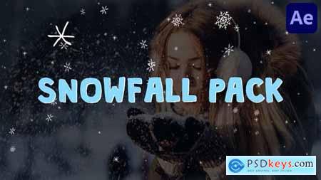 Cartoon Snowfall - After Effects 29516083