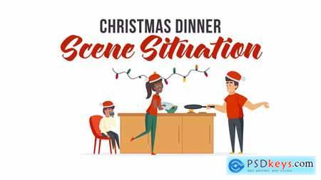 Christmas dinner - Scene Situation 29496459