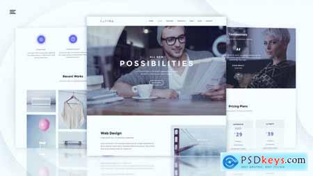 Modern Website Promo 22424153
