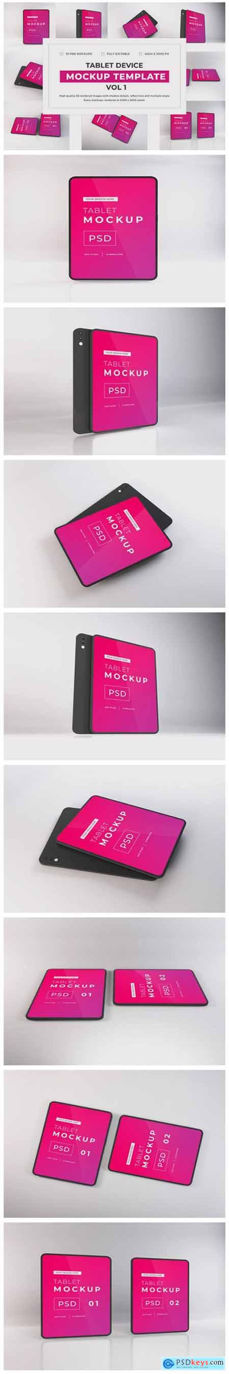 Tablet Device Mockup Bundle Vol 1 6717421