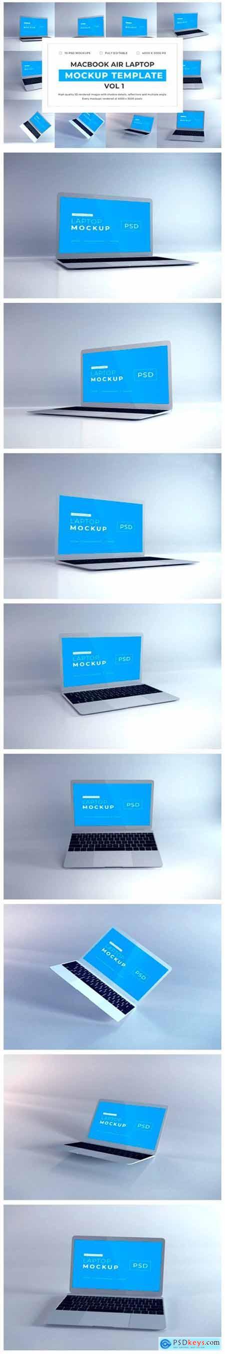 Macbook Air Mockup Bundle Vol 1 6719288
