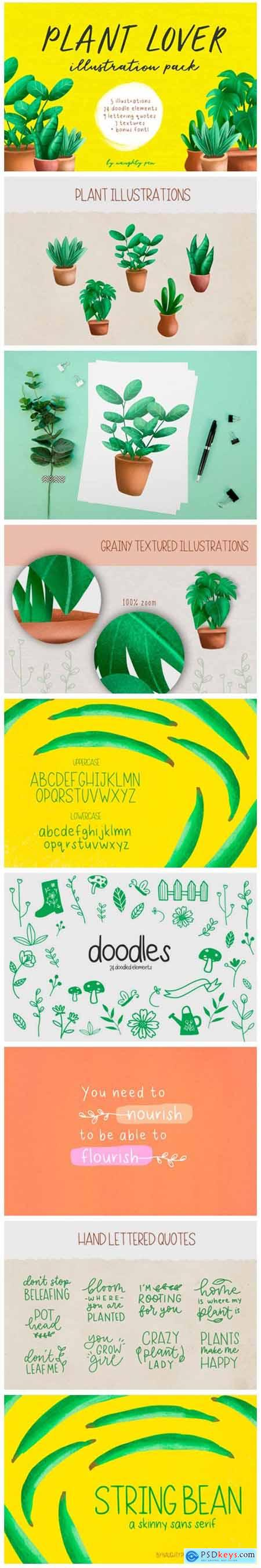 Plant Lover Illustrations 6716556