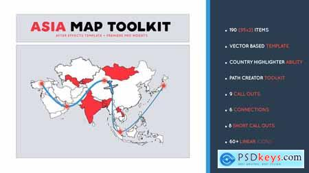 Asia Map Toolkit 29521231