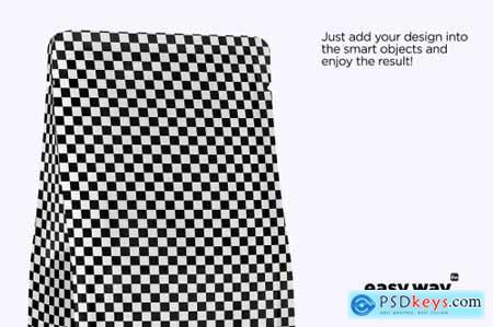 Kraft Paper Coffee Bag PSD Mockup 5634563