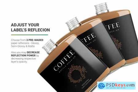 Coffee Bottle Mockup 4971163
