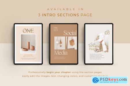 eBook Template Creator - CANVA PS 5163018