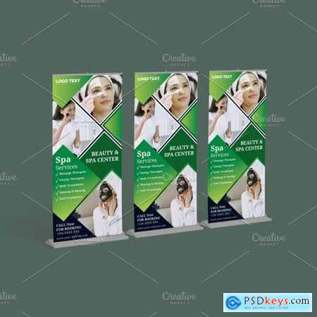 Beauty and Spa Roll-up Banner 5635667