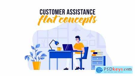 Customer assistance - Flat Concept 29529570