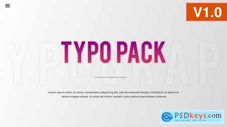 Typography Pack 22601405