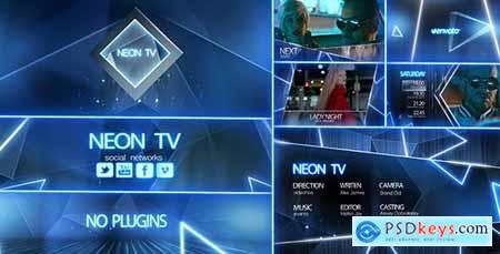 Neon TV Broadcast Package 12318357