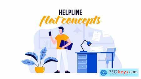 Helpline - Flat Concept 29529638
