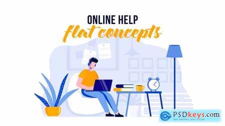 Online help - Flat Concept 29529687