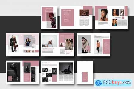 Fashion Lookbook Template 4877779