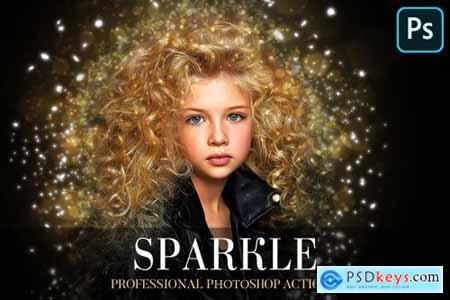 Sparkle Photoshop Action 4870537