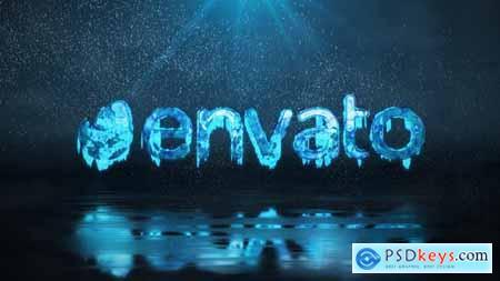 Frozen Winter Logo Reveal 25139286