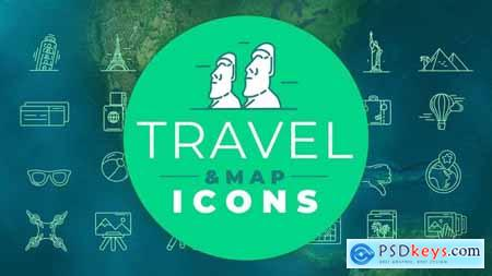 Travel & Map Icons 29513120