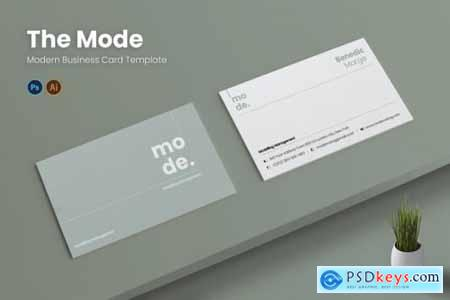 Mode Management Business Card