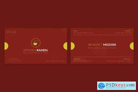 Kitchen Ramen Business Card