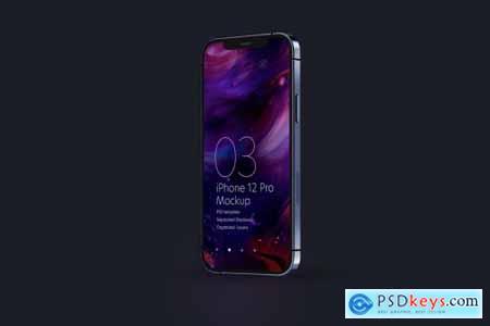 iPhone 12 Pro Mockup Set 5636428