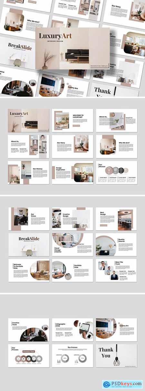 Interior - Business Powerpoint, Keynote, Googleslide Template