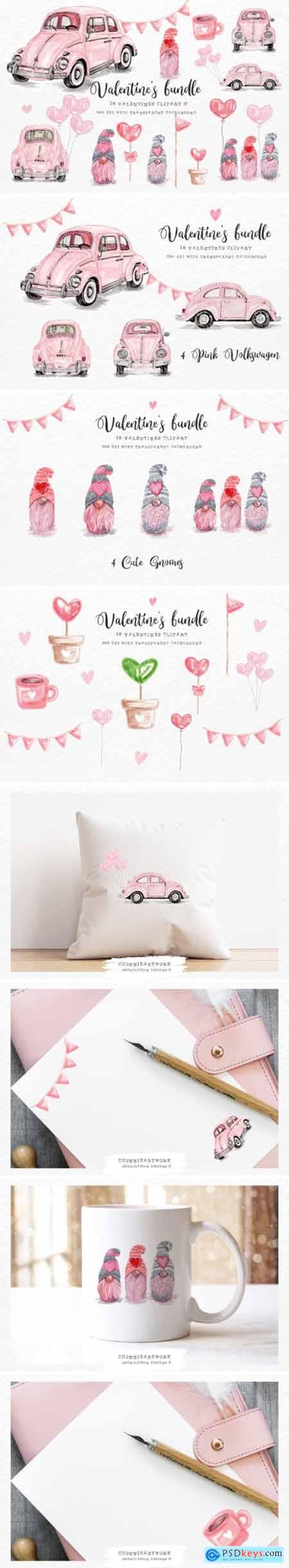 Valentines Day Bundle with Volkswagen 6916987